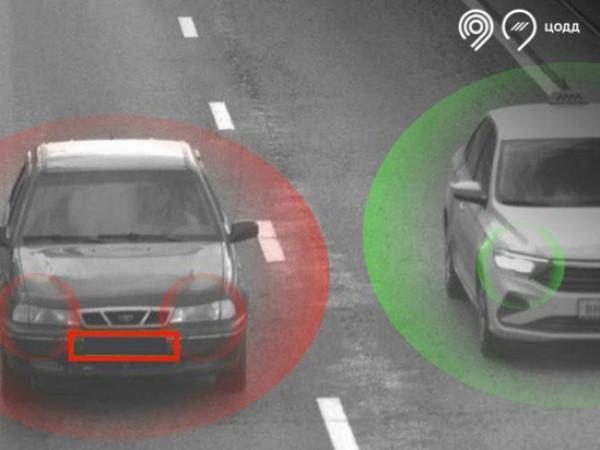 В Москве появилась камера по поиску авто с выключенными фарами