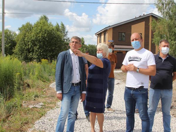 Дмитрий Миляев провел объезд населённых пунктов Пролетарского территориального округа